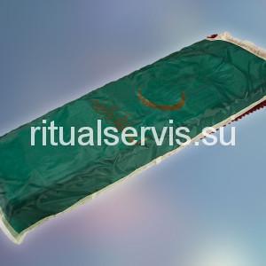 Покрывало похоронное мусульманское зеленое