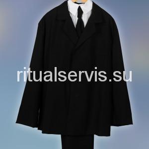 Костюм похоронный мужской с галстуком