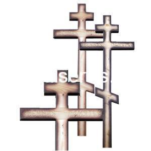 """Крест на могилу """"Вечная память"""" сосна"""