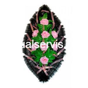 """Венок """"Розы нежно-розового оттенка"""""""