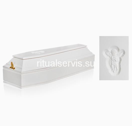 """Гроб детский шестигранный """"Ангел"""""""