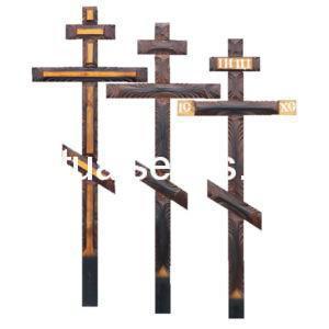 """Крест на могилу """"Ажурный"""" сосна"""