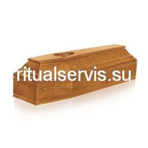 """Гроб деревянный """"Детский шестигранник"""""""
