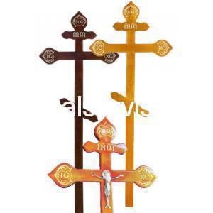 """Крест на могилу """"Фигурный"""" сосна"""