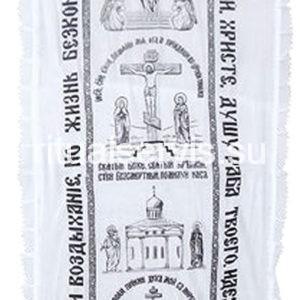 Покрывало х/б с православной символикой