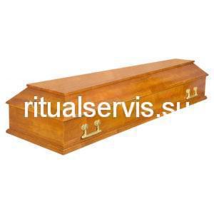 """Гроб лакированный """"Питер"""" четырехгранник"""