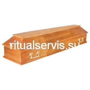 """Гроб лакированный """"Питер"""" шестигранный"""