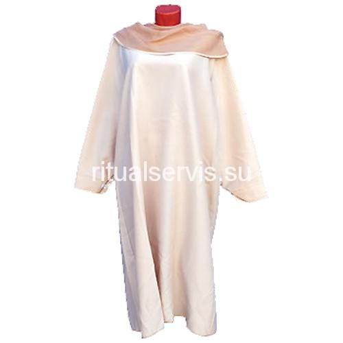 Платье похоронное светлое женское