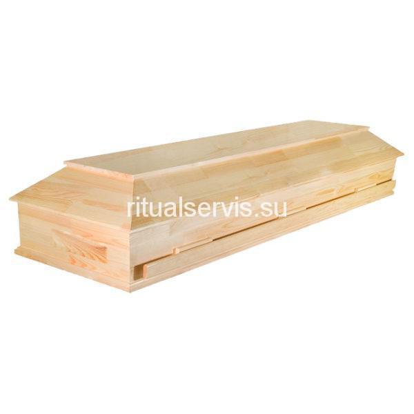 """Гроб деревянный """"Мусульманский"""" полированный"""