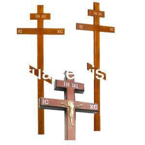 """Крест на могилу из дуба """"Прямой"""""""