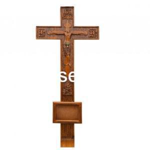 """Крест на могилу """"Резной №2"""" сосна"""