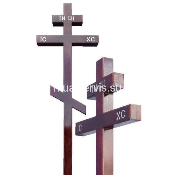 """Крест на могилу """"Сосна 100х100"""""""