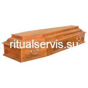 """Гроб шестигранный """"Тайная Вечеря"""" светлый"""