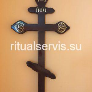 """Крест на могилу сосновый """"Фигурный"""""""